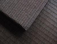 置き畳/フローリング畳セキスイ美草目積織りチャコールグレー畳表