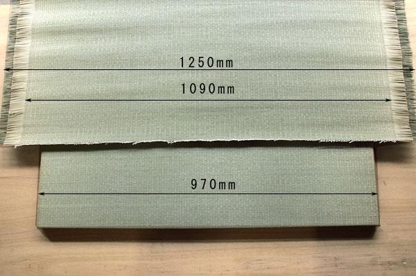 純国産置き畳に使用する畳表