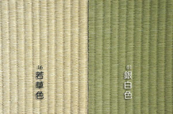 ユニット畳フローリング畳ダイケン 【清流】銀白色/若草色