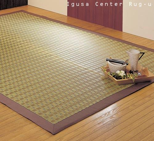 い草ラグ裏貼り2畳サイズ イクシーBE 191×250cm