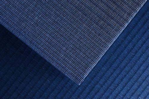 置き畳ユニット畳セキスイ【美草】インディゴ目積織り
