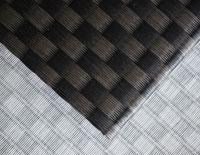 置き畳/フローリング畳セキスイ美草市松織り黒/グレー