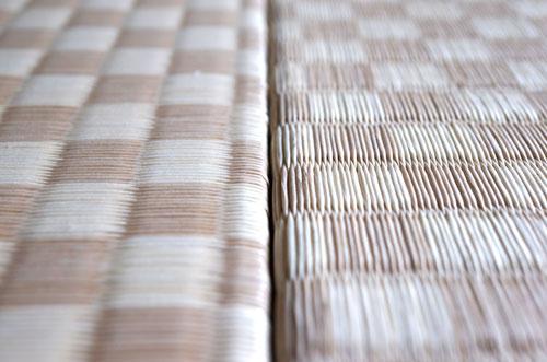 置き畳ダイケン市松02乳白色×白茶色