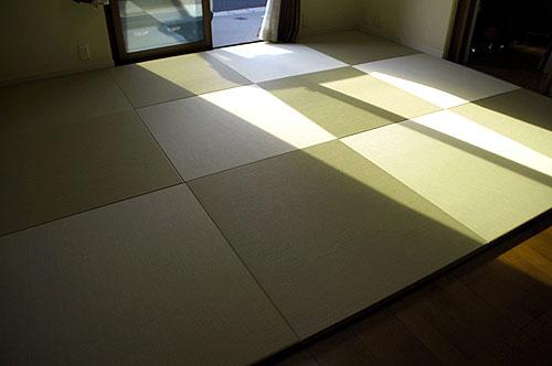 置き畳フローリング畳セキスイ美草リーフグリーン