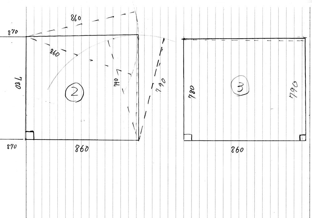 置き畳制作図面2
