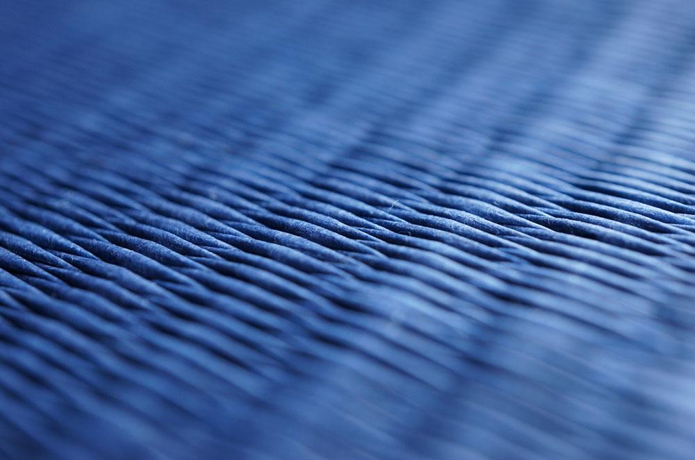 置き畳フローリング畳ダイケン清流17藍色