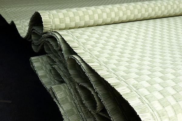 ダイケン銀白【市松】で製作する置き畳/ユニット畳銀白色×新銀白色