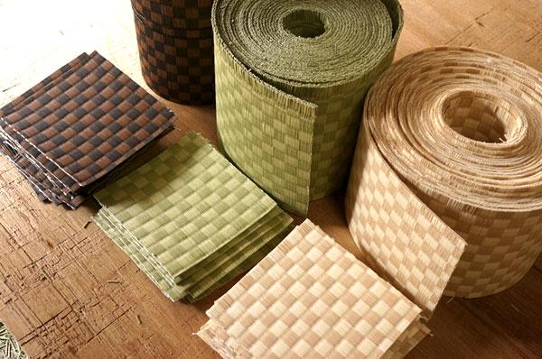 ダイケン銀白【市松】で製作する置き畳/ユニット畳サンプル