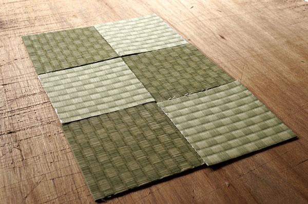 ダイケン銀白【市松】で製作する置き畳/ユニット畳