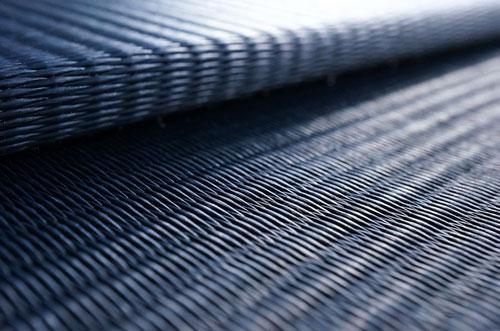 フローリング畳ユニット畳セキスイ【美草】インディゴ目積織り