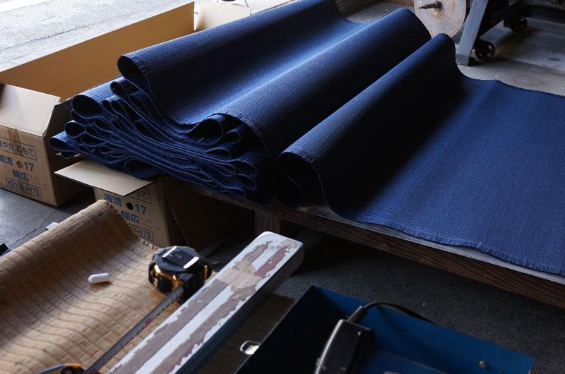 和紙畳表ダイケン清流藍色