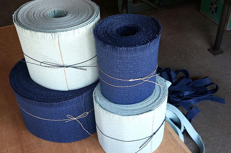 和紙畳表ダイケン清流青磁と藍色色