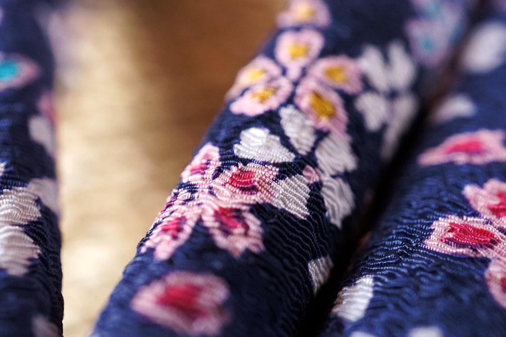 ムシロ草履いぐさサンダル鼻緒桜吹雪