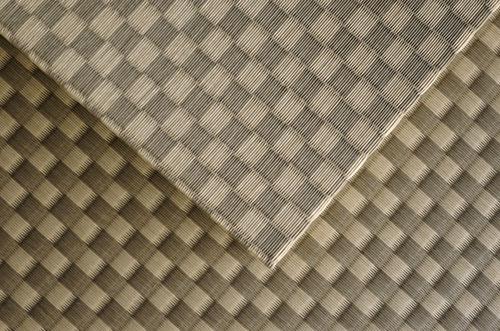 美草市松織りラテブラウン畳上面