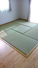 枠付き置き畳薄型軽量タイプ縁付き畳4.5帖