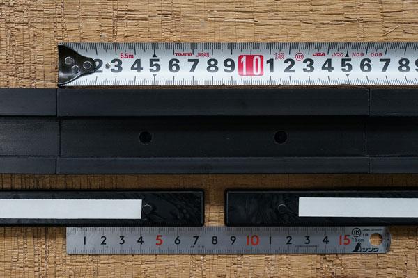 置き畳フレーム枠の穴あけ加工