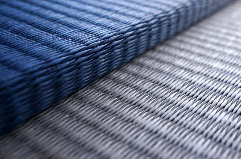置き畳ダイケン清流藍色×銀鼠色