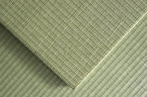 市松敷き置き畳ダイケン清流銀白色