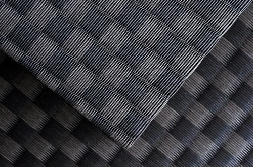 セキスイ美草市松織りブラック(黒)