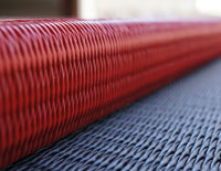 赤い畳 フローリング畳