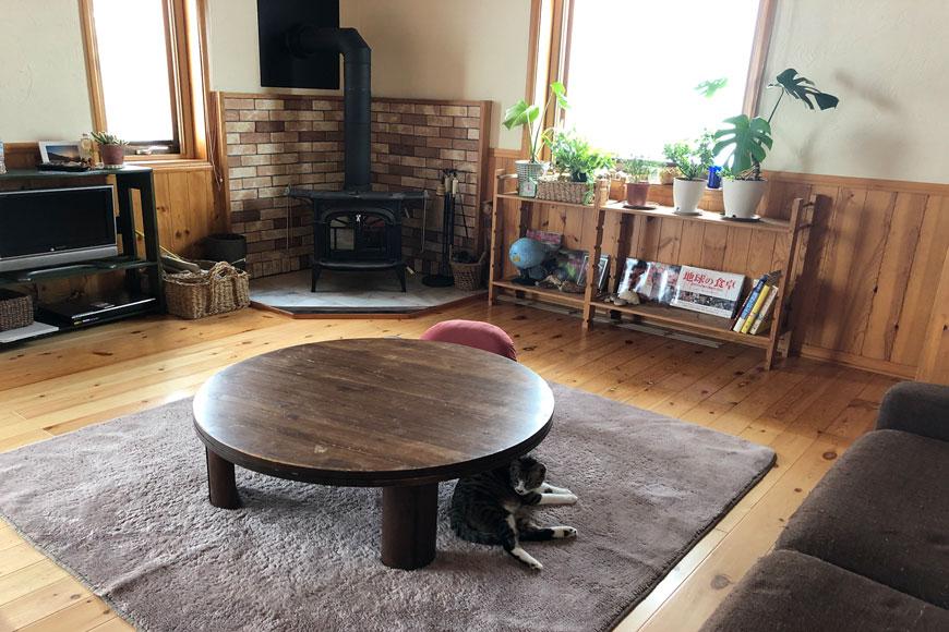 置き畳を敷く前の部屋