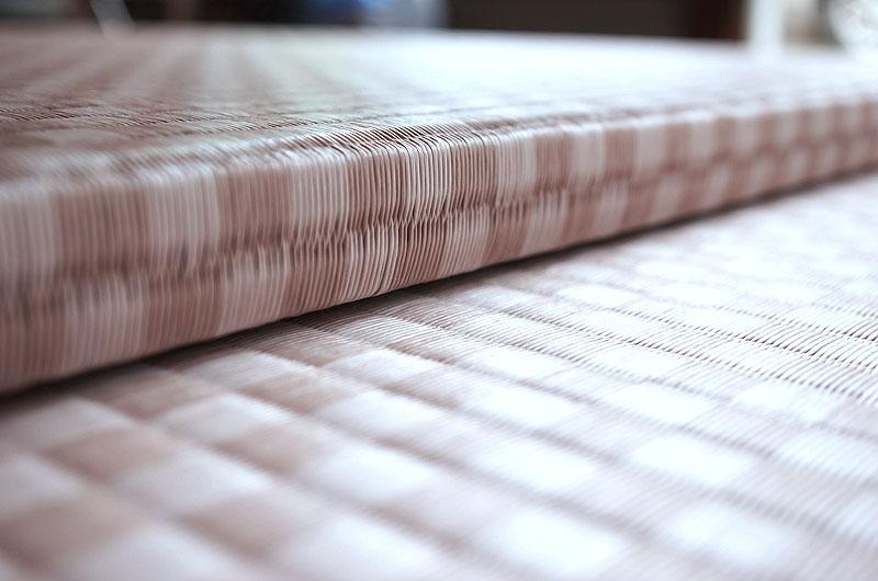 ユニット畳 セキスイ 美草 市松 ピンク 畳の厚み3.0cm