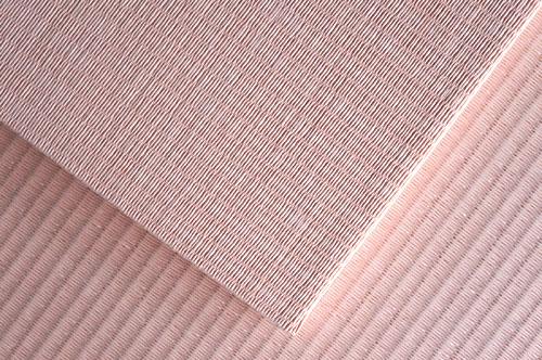 置き畳 薄桜色 市松