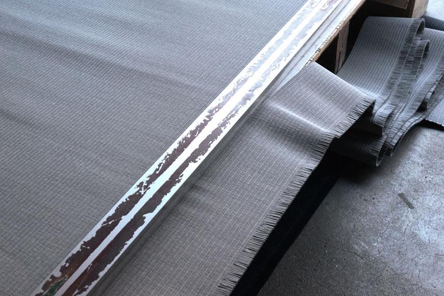 置き畳 和紙 清流 灰桜色