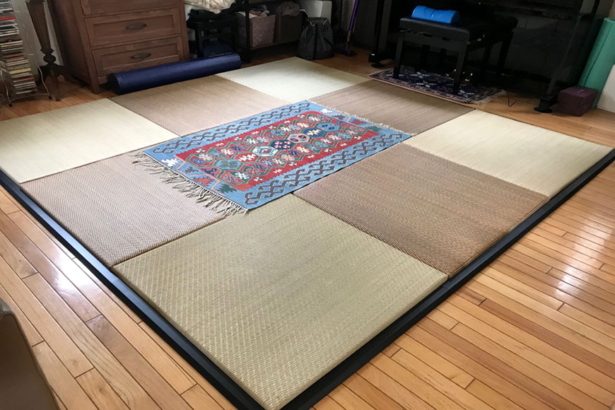 置き畳の枠