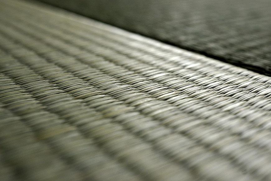 国産い草で織られた畳表