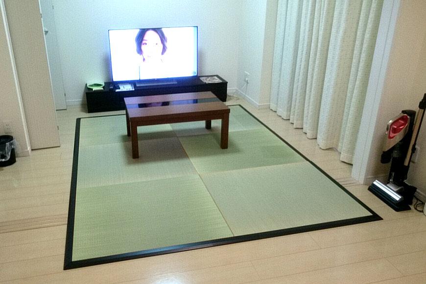 純国産高級置き畳と畳枠をサイズオーダー