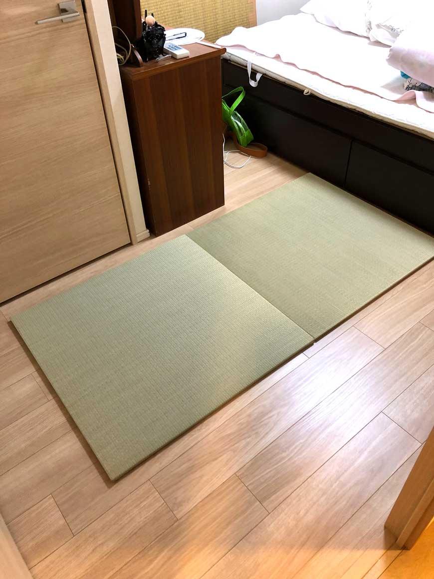 純国産 置き畳 和極 82×82×畳の厚み2.0cm