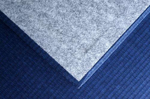和紙製 置き畳【清流】藍色 滑り止めシート