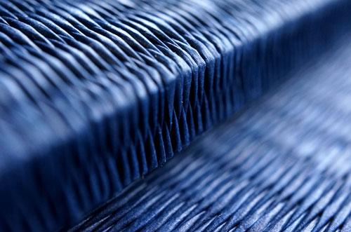 和紙製 置き畳【清流】藍色 返し