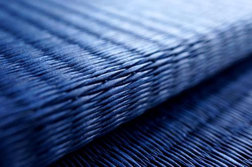和紙製 置き畳【清流】藍色 框