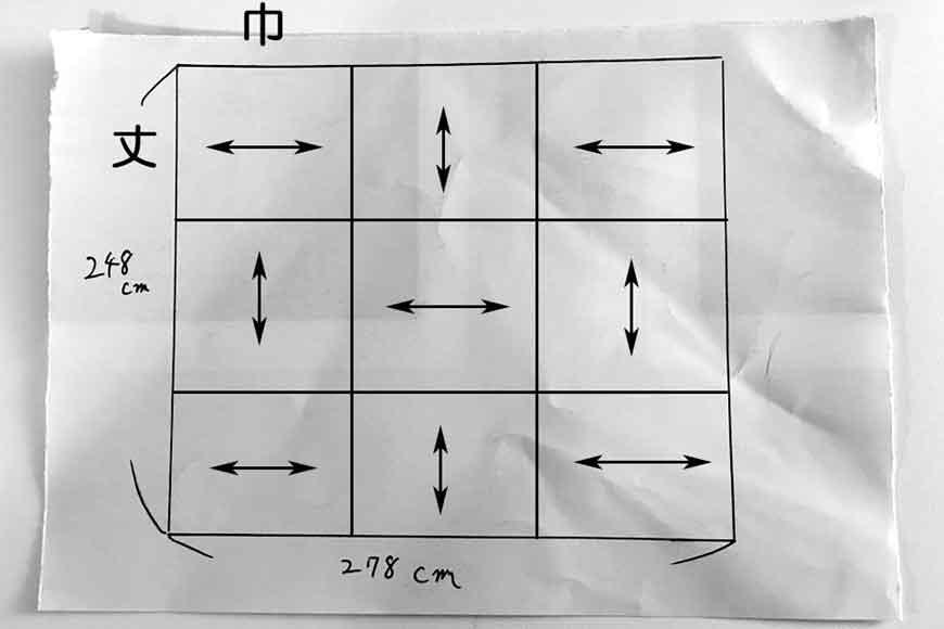 置き畳の製作図面 提案