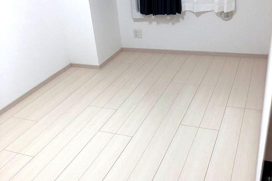 国産 置き畳 を敷く前の部屋