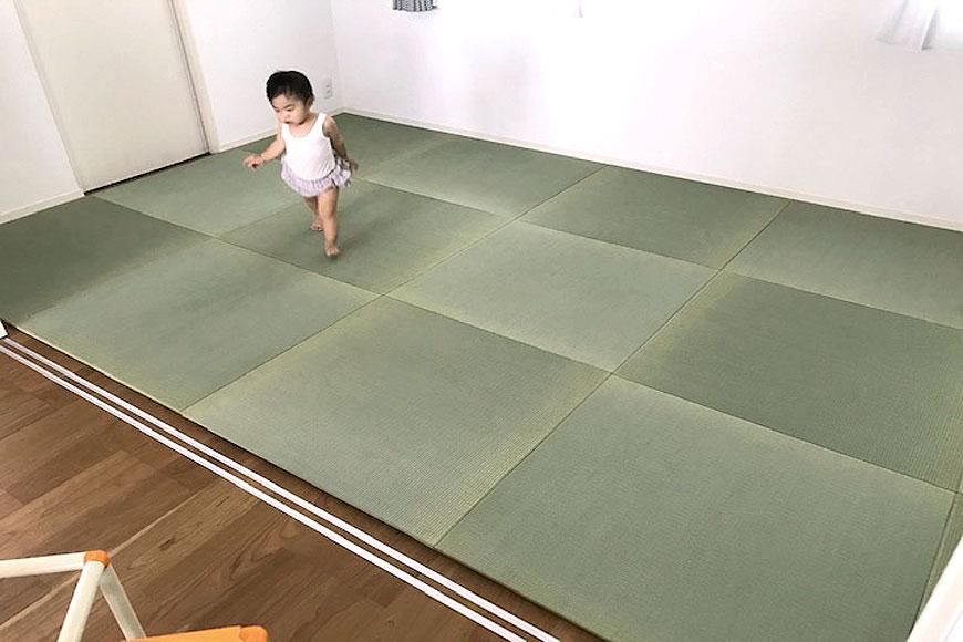 赤ちゃんと置き畳