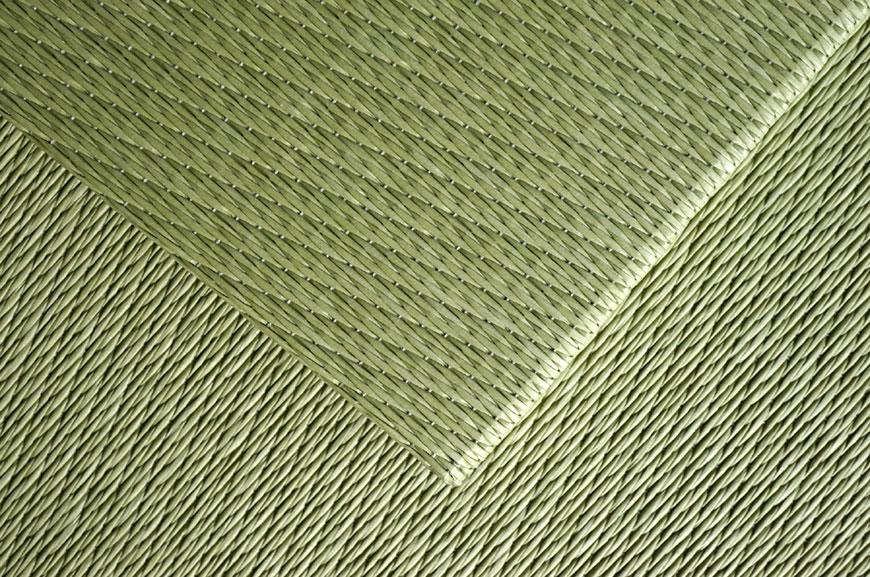 置き畳和紙表 綾波 銀白色