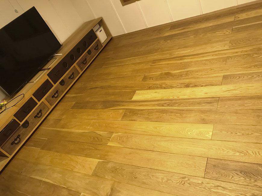 置き畳を敷く前のフローリングの部屋