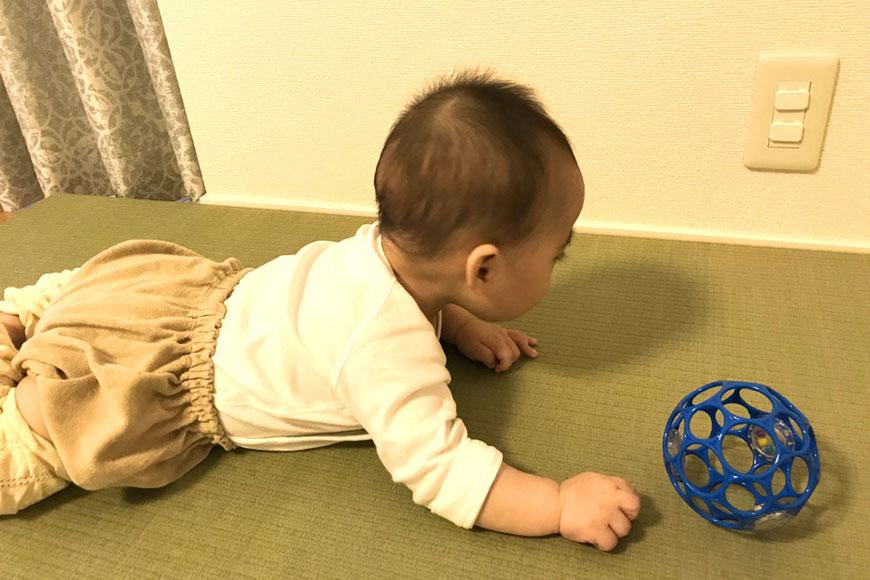 国産置き畳 赤ちゃん