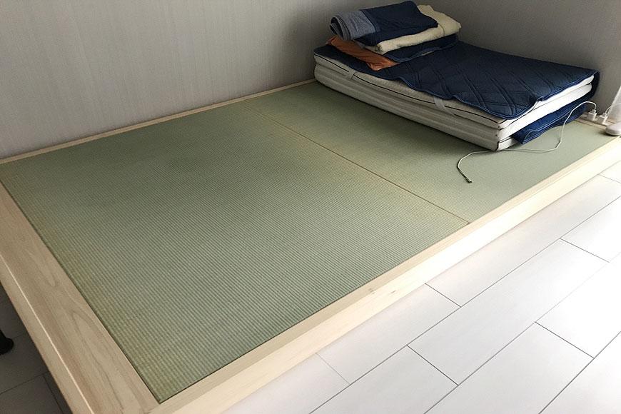 ロータイプの畳ベッド