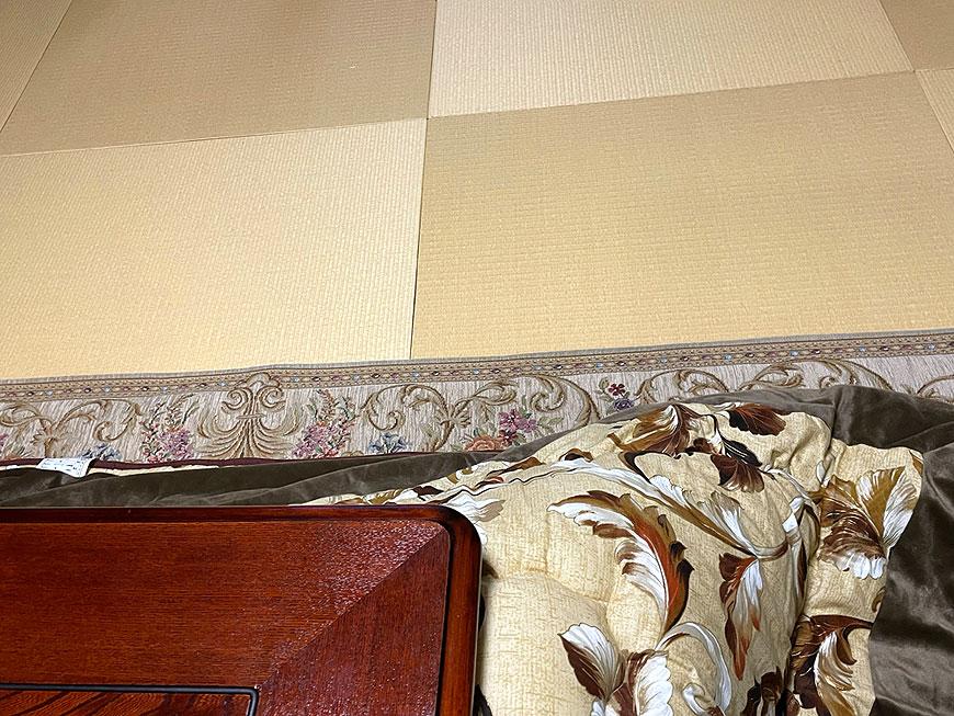 和紙製 置き畳 清流 黄金色 サイズオーダ畳