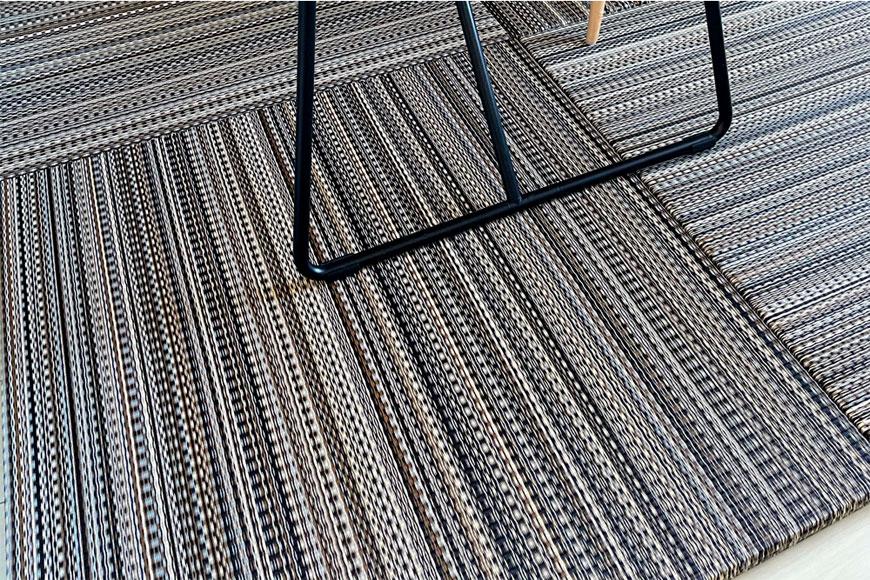 1K6畳一人暮らしの部屋へユニット畳を敷いてみた:Migusaアースカラー ミッドナイト